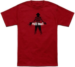 Free Hugs Horror T-Shirt