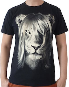 Long Haired Lion T-Shirt