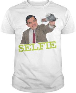 Mr Bean Selfie T-Shirt
