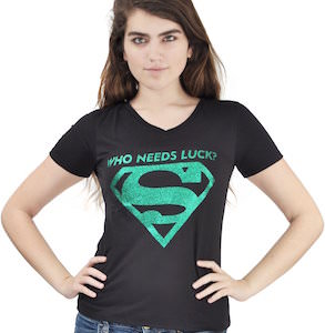 Supergirl St Patrick's Day T-Shirt