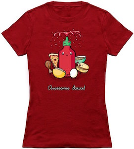Awesome Sauce Food Party T-Shirt