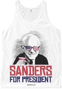 Sanders For President Tank Top