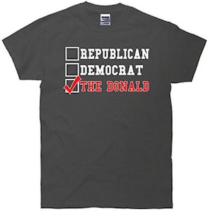 Vote The Donald T-Shirt