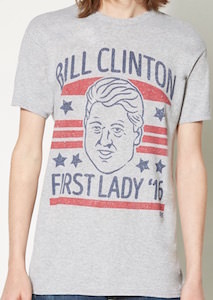 Bill Clinton First Lady '16 T-Shirt