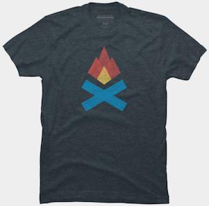 Campfire logo T-Shirt