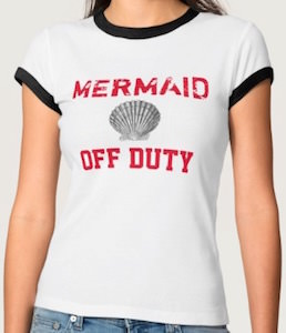 Mermaid Of Duty T-Shirt