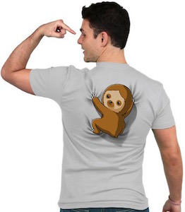 Sloth On Your Back T-Shirt