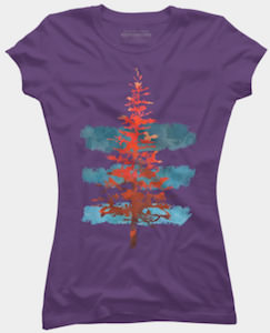 Red Pine Tree T-Shirt