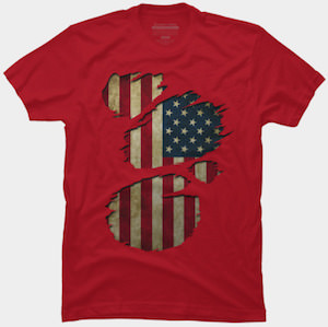 USA On The Inside T-Shirt