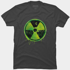 Radioactive Skyline T-Shirt