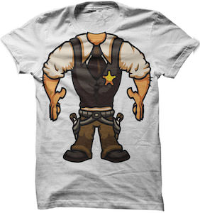 Cowboy Costume T-Shirt