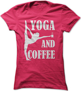 Yoga And Coffee T-Shirt