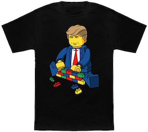 Trump Building His Wall T-Shirt