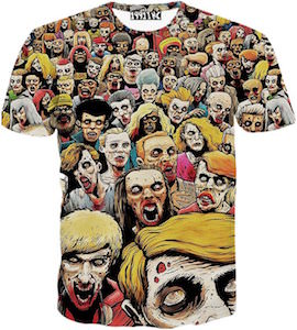 Zombies All Over T-Shirt