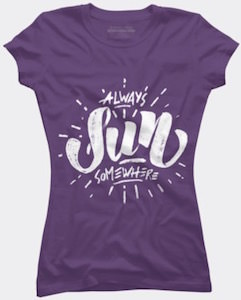 Always Sunny Somewhere T-Shirt