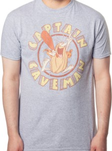 Captain Caveman T-Shirt