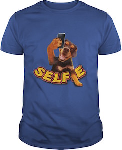 Selfie Dog T-Shirt