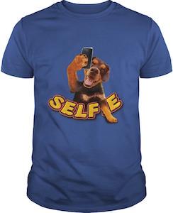 Selfie Dog T-Shirt