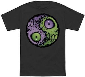 Zombie Yin Yang T-Shirt