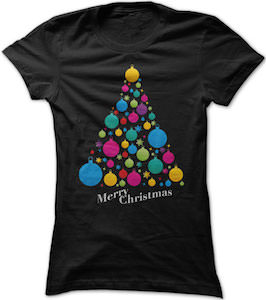 Christmas Tree Decorations T-Shirt