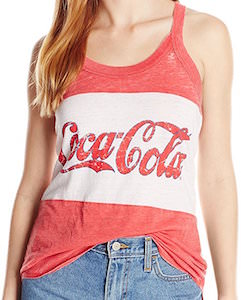 Women's Coca-Cola tank top