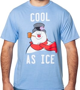 Frosty The Snowman Cool As Ice T-Shirt
