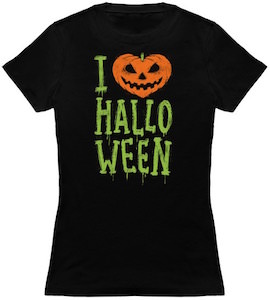 I Pumpkin Halloween T-Shirt