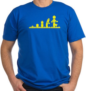 LEGO Minifig Evolution T-Shirt