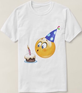 Emoji Birthday T-Shirt