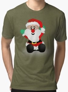 Cute Santa Christmas T-Shirt