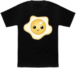 Sunny Side Up Happy Egg T-Shirt