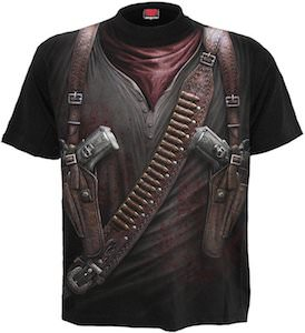 Holster Wrap Gunman Costume T-Shirt
