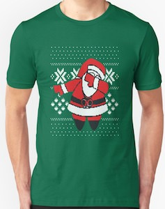Hiding Santa Claus T-Shirt
