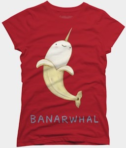 Banarwhal T-Shirt