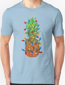Christmas Pineapple T-Shirt