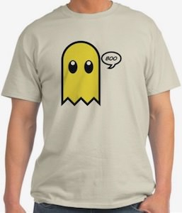 Yellow Ghost Boo T-Shirt