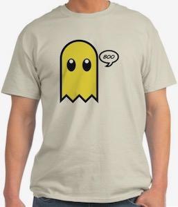 Yellow Ghost Boo T-Shirt