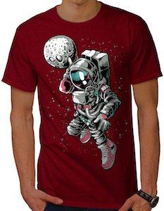 Baseball Astronaut T-Shirt