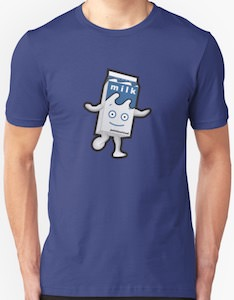 Walking Milk Carton T-Shirt