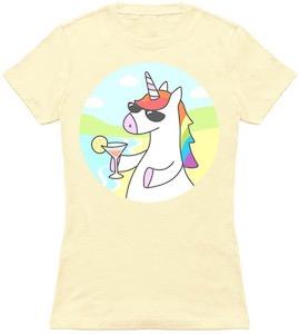 Chilling Unicorn T-Shirt