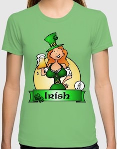 Women's Irish Babe T-Shirt