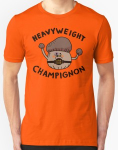 Mushroom Wrestler Heavyweight Champignon T-Shirt