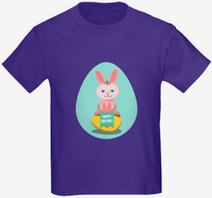 Egg And Bunny Happy Easter T-Shirt