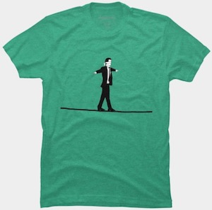 Walking The Line T-Shirt