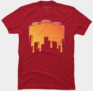 LEGO Skyline Sunset T-Shirt