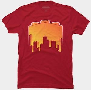 LEGO Skyline Sunset T-Shirt