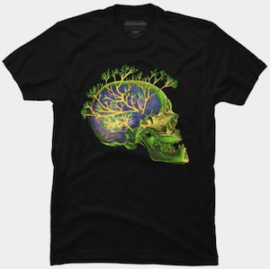 Brain Branching Out T-Shirt