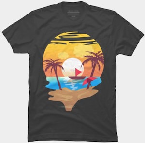 Summer Beach Time T-Shirt