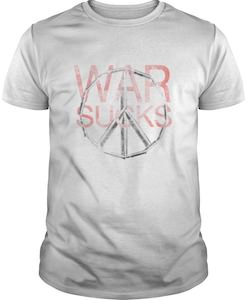 War Sucks Peace Sign T-Shirt