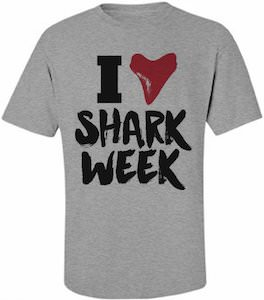 I Love Shark Week T-Shirt
